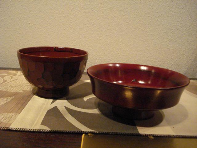 平型椀 漆器 取り鉢