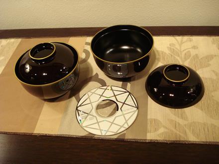 正月 漆塗り 漆器 雑煮椀 煮物椀