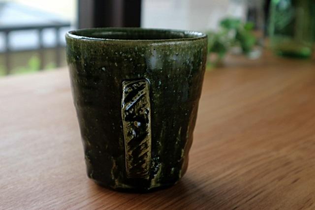 マグカップ 陶器 棚橋淳 織部