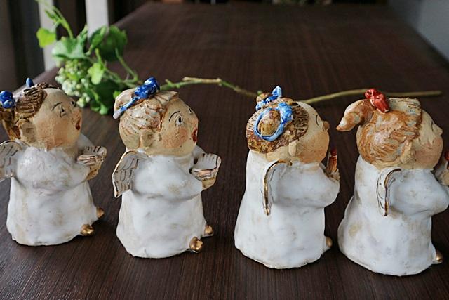 ささきようこ 聖歌隊 陶器 人形