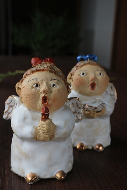 ささきようこの陶人形  聖歌隊