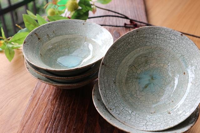 瀬戸口真 唐津 中鉢揃え 陶器