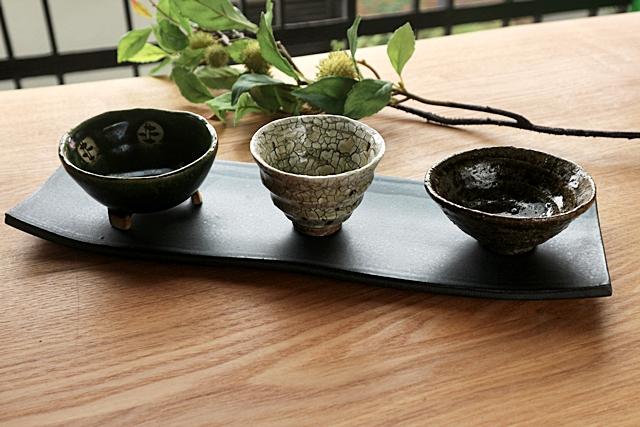 さんま皿 焼き物皿 土物 丹泉窯
