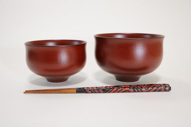 漆器 大汁椀 雑煮椀 喜八工房