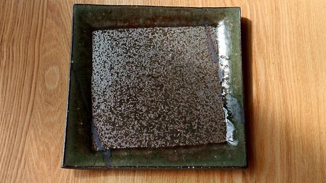 四角皿 陶器