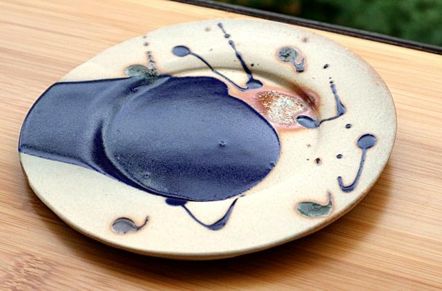 中皿 立杭焼 丹文窯 陶器